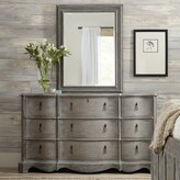 Hooker Furniture Beaumont 9 Drawer Double Dresser with Mirror