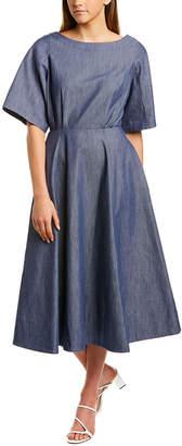 Derek Lam Denim Midi Dress