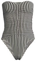 Thumbnail for your product : Norma Kamali Striped Marissa One-Piece Swimsuit