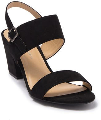Cl By Laundry Sweetly Scallop Block Heel Sandal