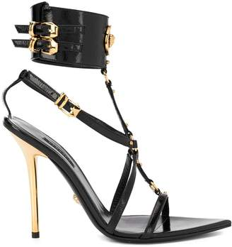 Versace Medusa strappy sandals