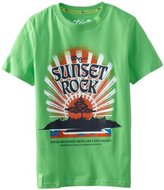 Lrg Kids Boys 8-20 Sunset Rock Tee