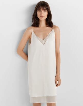 Club Monaco Two-Layer Slip Dress