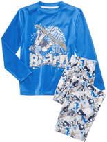 Max & Olivia 2-Pc. I'm So Board Pajama Set, Little Boys & Big Boys, Created for Macy's