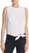 Cupio Sleeveless Tie Front Top