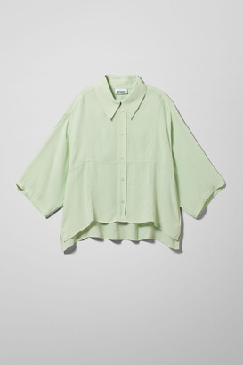Weekday Heidi Shirt - Green