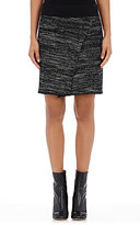 Isabel Marant Women's Cashlin Mock-Wrap Skirt-DARK GREY