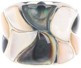 Candela Sterling Silver Multi Tone Mother of Pearl Ring