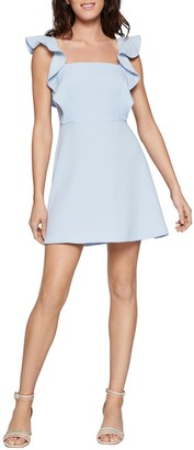 BCBGeneration Ruffled Apron Mini Dress