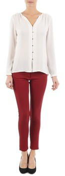 LOLA Cosmetics PAZIP SCREEN women's Cropped trousers in Red