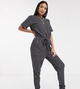 Asos DESIGN Tall exclusive lounge organic jumpsuit