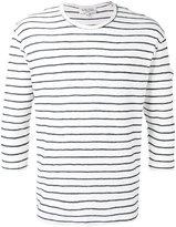 YMC striped top - men - Cotton/Polyester - S