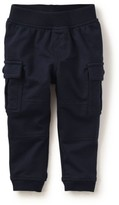 Tea Collection Infant Boy's 'Ready To Roll' French Terry Cargo Pants