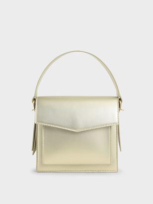 Charles & Keith Top Handle Envelope Bag