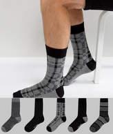 Ben Sherman 5 Pack Sock Gift Box