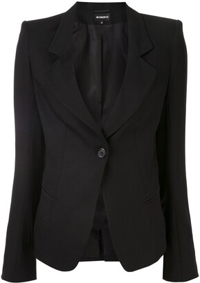 Ann Demeulemeester Fitted Tailored Blazer