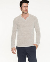 Le Château Tape Yarn Slim Fit Sweater