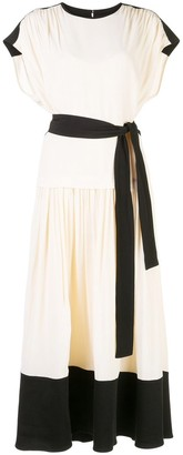 Proenza Schouler Tie Waist Dress