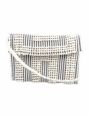 Antonello Crochet Crossbody Bag White