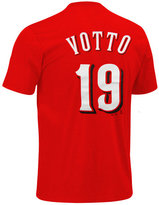 Majestic Boys' Joey Votto Cincinnati Reds Player Tee