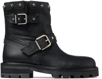 Jimmy Choo star-stud Youth II boots