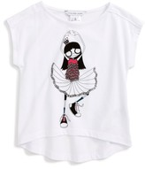Little Marc Jacobs Girl's Miss Marc Graphic Tee