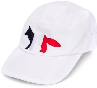 MAISON KITSUNÉ Embroidered Logo Baseball Cap