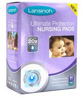 Lansinoh Ulimate Protection Soft 50-Pack Nursing Pads