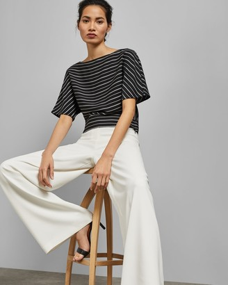 Ted Baker Kimono Sleeve Striped Top