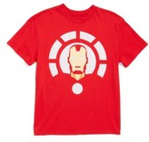 Mighty Fine Boy's Iron Man Graphic T-Shirt