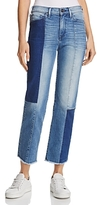 True Religion Cora Straight Crop Jeans in Sand Sculpture