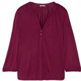 Eberjey Georgina Jersey Pajama Top - Burgundy