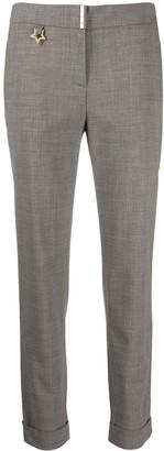 Lorena Antoniazzi Low-Waist Tapered Trousers