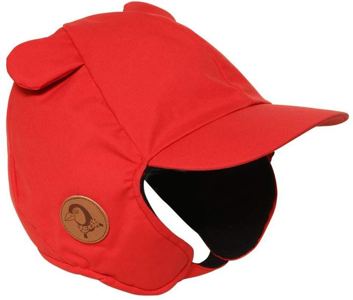 Mini Rodini Waterproof Nylon Canvas Hat