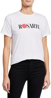 Rodarte Rosarte Crewneck T-Shirt