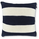 Nautica Aport Mainsail Rugby-Striped Knit Pillow
