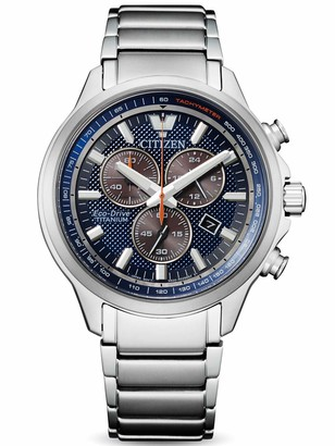 Citizen Men's Chronograph Eco-Drive Watch with Titanium Strap AT2470-85L