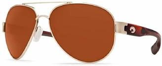 Costa del Mar Women's South Point Polarized Aviator Sunglasses
