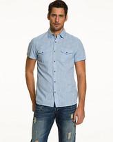 Le Château Cotton Slub Slim Fit Shirt