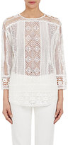 TOMORROWLAND Women's Geometric-Lace Top