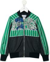 MSGM patterned bomber jacket
