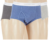 Roundtree & Yorke 3-Pack Assorted Full-Cut Briefs