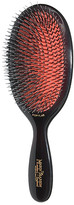 Mason Pearson Popular Mixture Bristle & Nylon Mix Hair Brush in Black.
