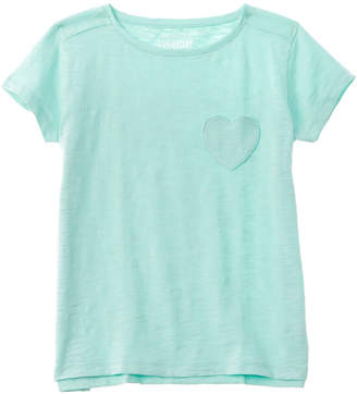 J.Crew Crewcuts By Solid Heart Pocket T-Shirt