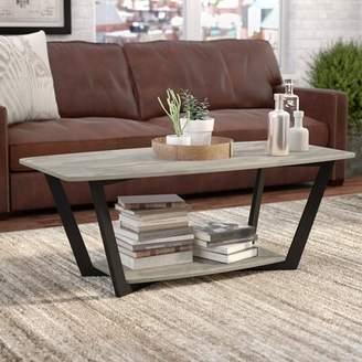 Trent Austin Design Anissa Coffee Table Trent Austin Design Top Color: Cherry/Black, Base Color: Cherry/Black