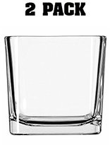 Libbey Medium Candle Holder Cube 2 Pack