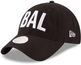 New Era Women's Black Baltimore Ravens Hometown 9TWENTY Adjustable Hat
