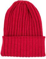 Kijima Takayuki - ribbed beanie hat - men - Hemp/Nylon/Polyurethane - One Size