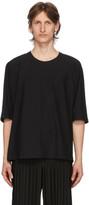 Issey Miyake Homme Plisse Black Release Basic T-Shirt