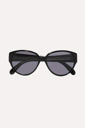 Givenchy Round-frame Acetate Sunglasses - Black
